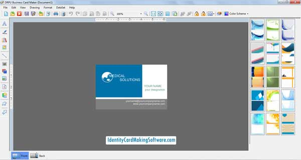 Business Card Making Software