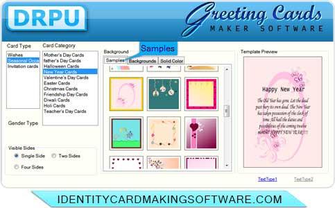 Windows 7 Greeting Card Making Software 8.2.0.1 full